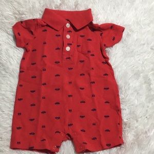 Carter's Classic Cars Print One Piece-Size 6 Mos